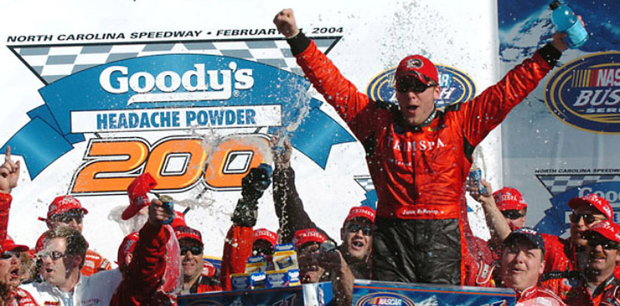 BUSCH: McMurray races into Rockingham record book