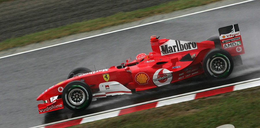 Schumacher front row for Japanese GP