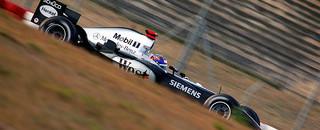 Formula 1 Montoya tops first day of Jerez test