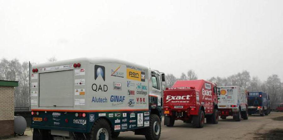 Dakar trucks set for an exciting 2005