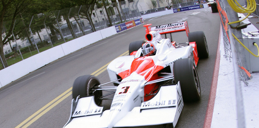 IRL: Castroneves strides the St Pete streets