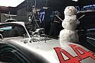 Снеговик и рождественская «елка»: как проходит третий день тестов Ф1