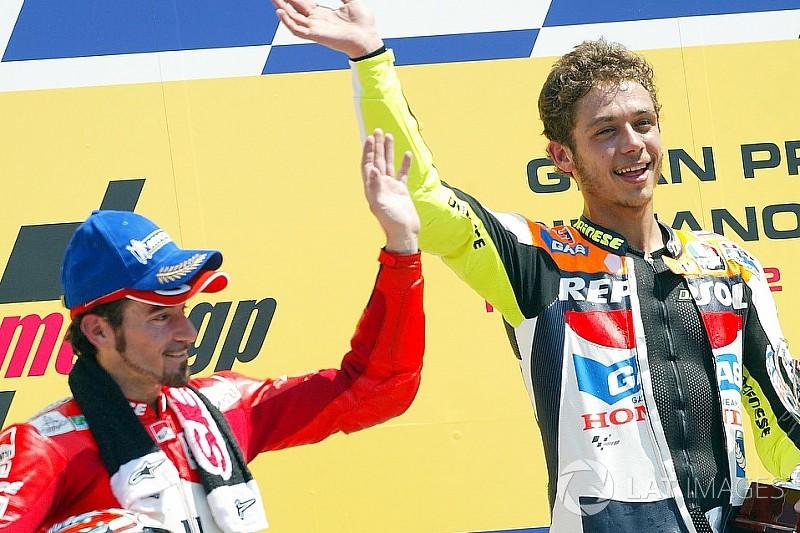 """Biaggi salue un Rossi """"héroïque"""" de poursuivre sa carrière"""