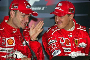 Barrichello: Kazadan sonra Schumacher'i görmek istedim