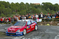 Loeb runs away with the lead in Catalunya