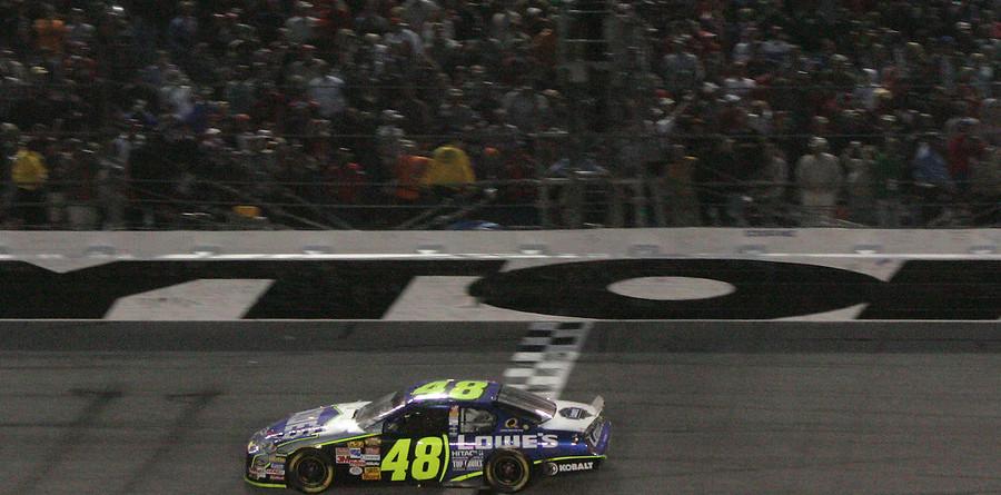 Johnson earns his first Daytona 500 win