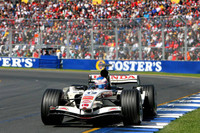 Button snatches pole position for Australian GP
