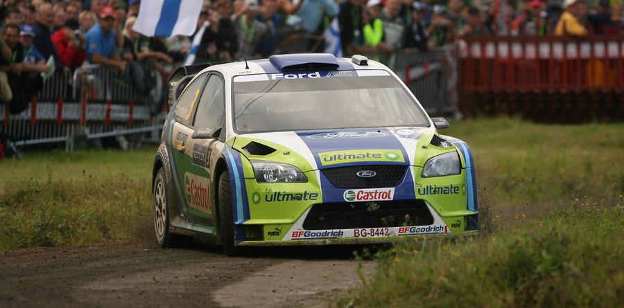 Gronholm extends lead as Loeb stumbles
