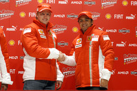 Ferrari duo start 2007 on positive note