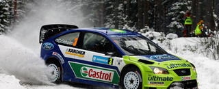 WRC Gronholm in his element in Sweden