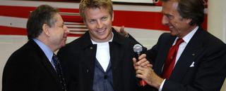 Formula 1 Raikkonen can't stop smiling