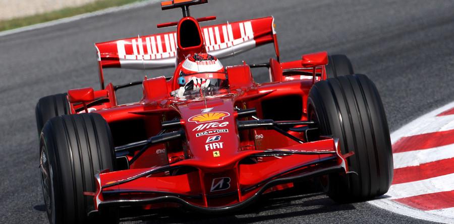 Raikkonen scoops fast practice time in Barcelona