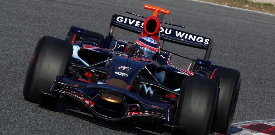 Not winter, not '09 but F1 testing has begun