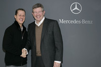 It's official: Schumacher goes to Silver Arrows
