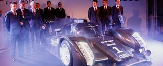 ALMS Audi unveils R18 prototype, plans DTM future car