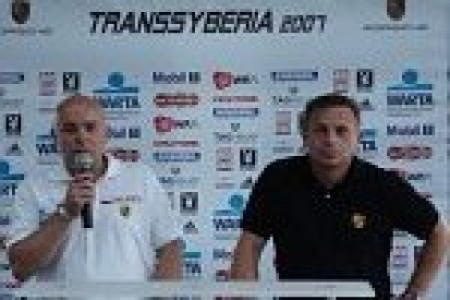 Zespół Kuzaja w Transsyberia Rally