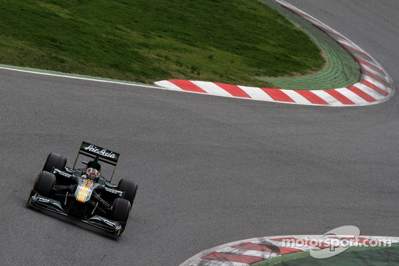 Team Lotus Barcelona test report 2011-03-08