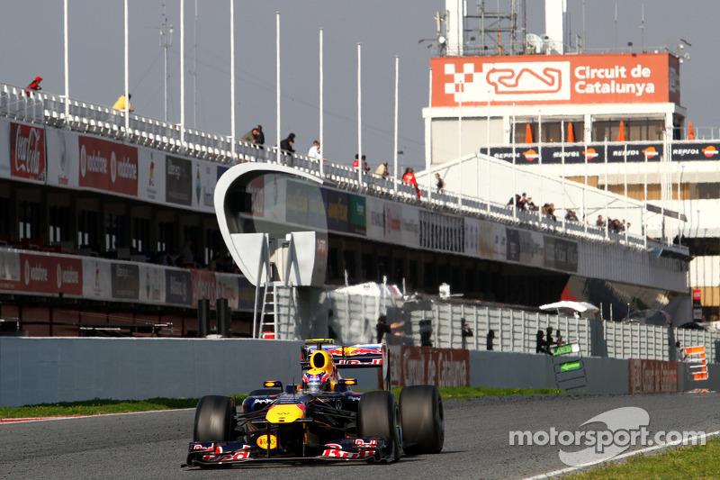 Red Bull Barcelona test report 2011-03-10