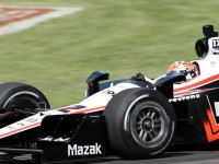 Penske, Power fastest at Birmingham