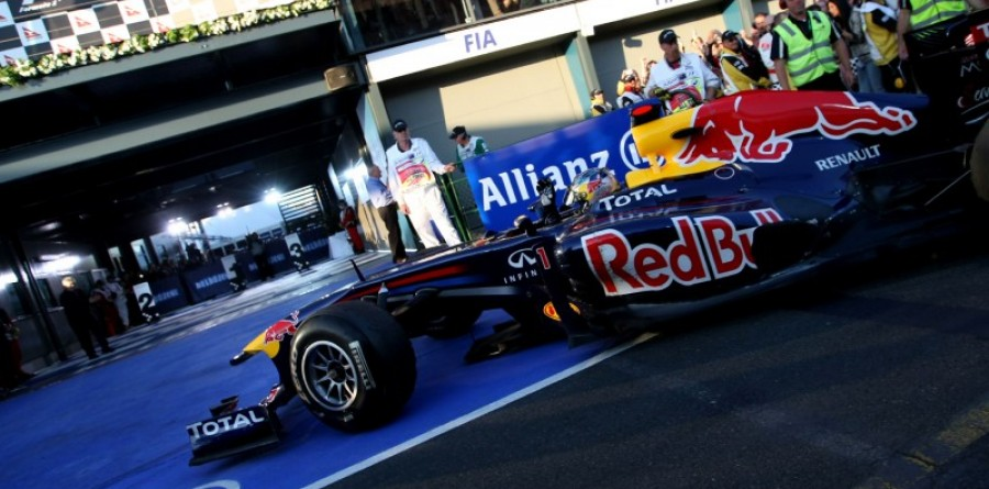Vettel awesome in Oz