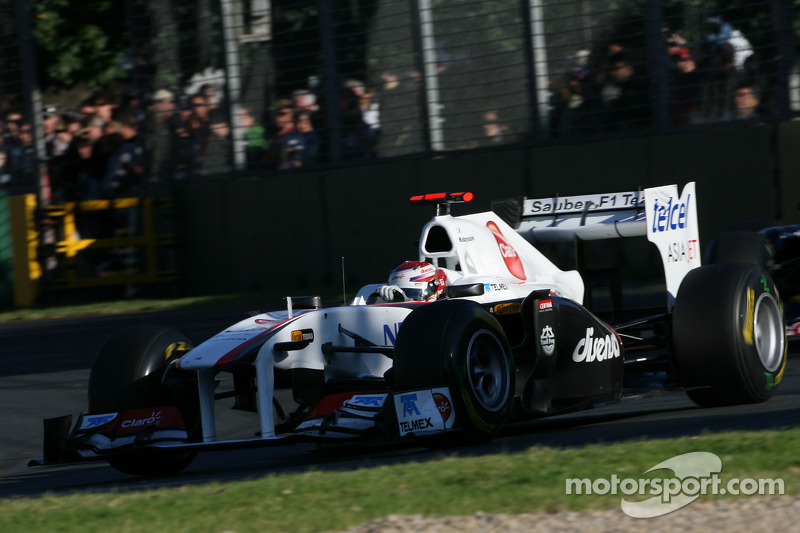 Sauber withdraws Aus GP disqualification appeal