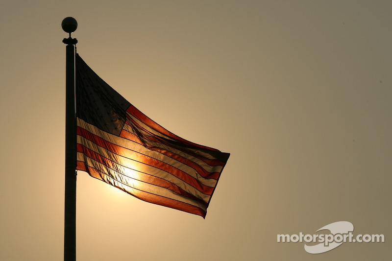 US GP site 'bare' but still on track