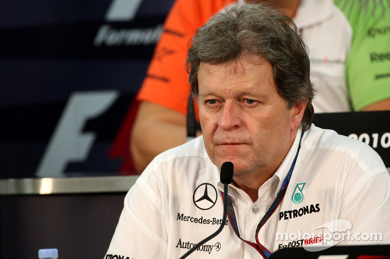 Mercedes board still committed to F1 - Haug