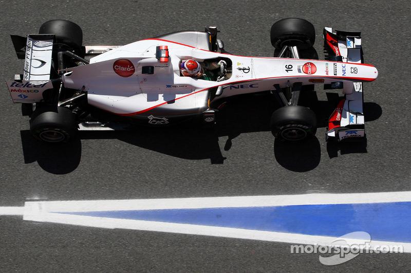 Sauber Spanish GP Qualifying Report
