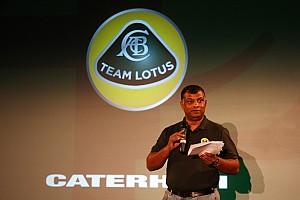Formula 1 Fernandes hints at name tweak for Team Lotus