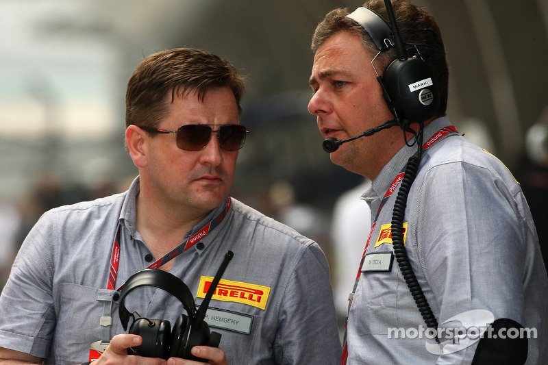 Economy not right for F1 tyre war - Pirelli