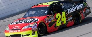 NASCAR Cup Jeff Gordon - Pocono Friday Media Visit