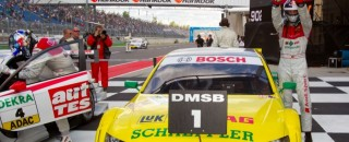 DTM Tomczyk Takes Second Successive Win At Lausitz