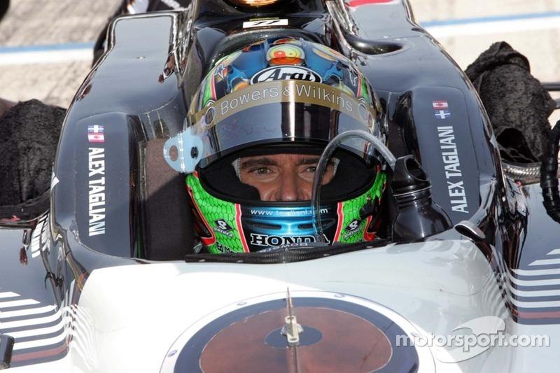Alex Tagliani Iowa Qualifying Report