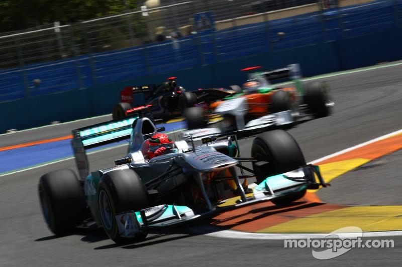 Schumacher Must Trigger 2012 Contract Option