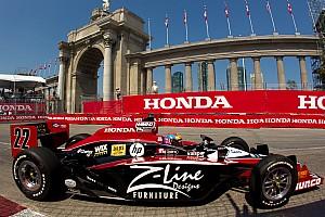 IndyCar Justin Wilson Toronto Qualifying Report
