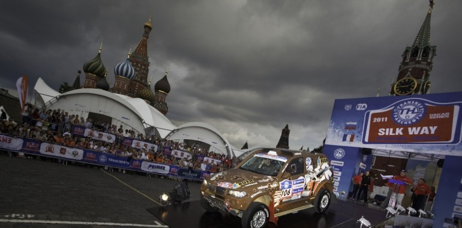 Nikolaev & Zheludov Hold Dakar Silk Way Rally Stage 1 Lead In Russia