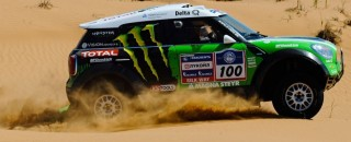 Cross-Country Rally Peterhansel Wins Silk Way Rally 4th Stage For X-Raid