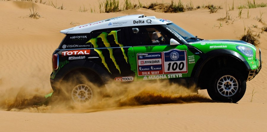 Peterhansel Wins Silk Way Rally 4th Stage For X-Raid