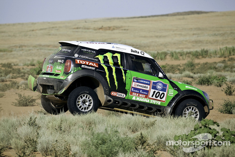 BMW X-Raid Dakar Silk Way Rally Stage 6 Report