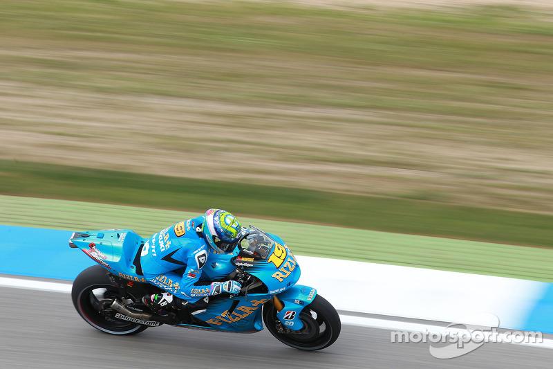 Rizla Suzuki US GP Friday Report