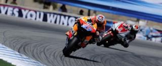 MotoGP Stoner Shines In California For MotoGP US GP Win
