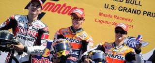 MotoGP Repsol Honda Takes A MotoGP Double Podium At US GP