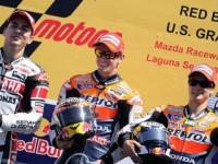 Repsol Honda Takes A MotoGP Double Podium At US GP