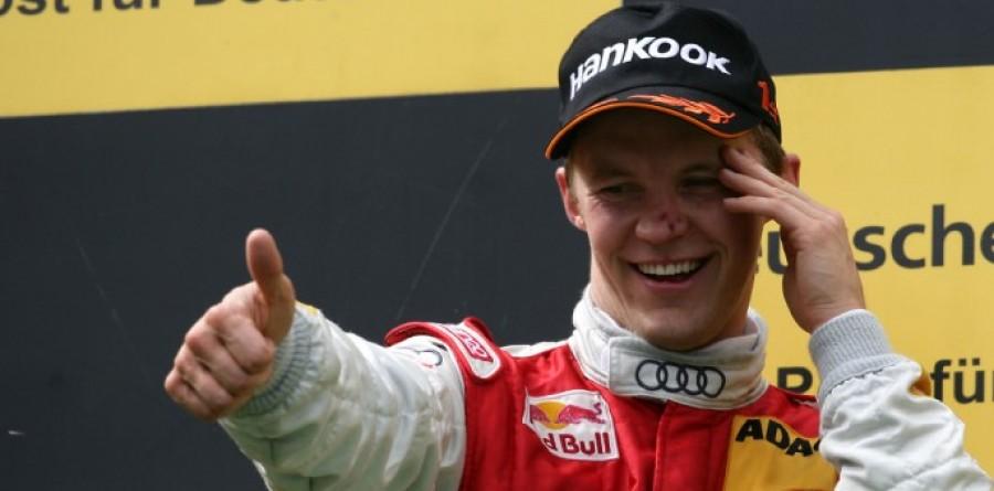 Ekstrom Wins DTM Race For Audi At Nurburgring