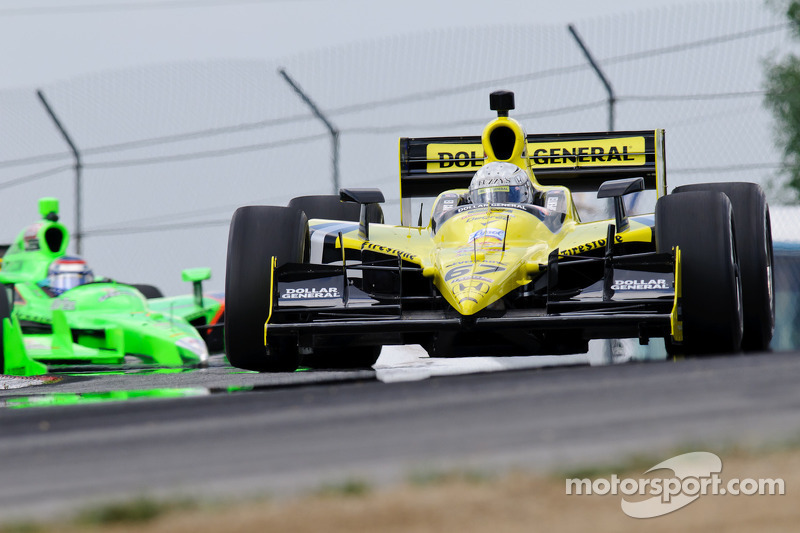 Sarah Fisher Racing Mid-Ohio Race Report