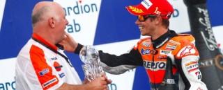 MotoGP Repsol Honda celebrates 1-2 finish in Czech GP