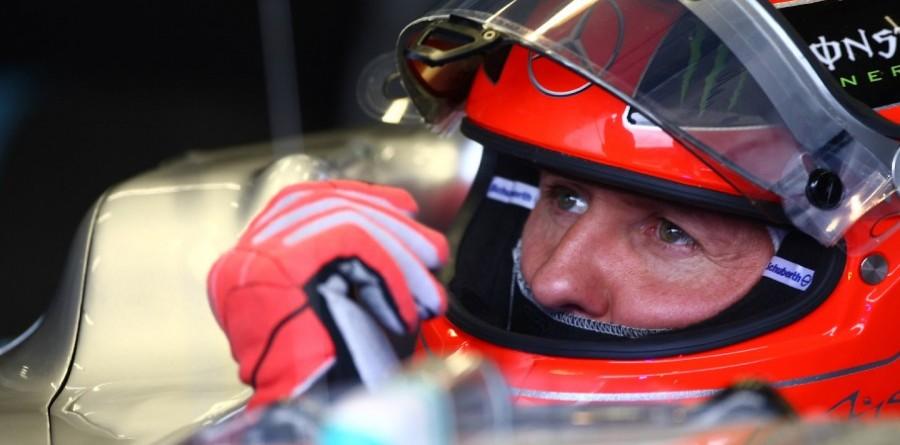 Ecclestone - 'sad' to see 'superman' Schumacher struggle