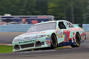 NASCAR Cup Lally looks for more improvement at Michigan