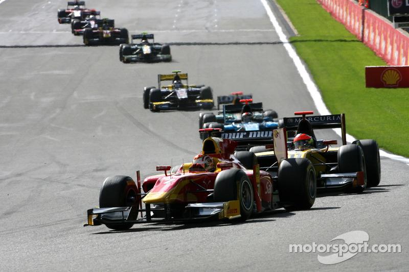 Racing Engineering Spa race 2 report