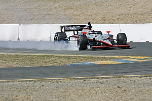 IndyCar Panther Racing Sonoma race report